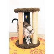 New Cat Condos Delphine Cat Scratcher; Brown