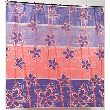 Carnation Home Fashions PEVA ''Posy'' Shower Curtain