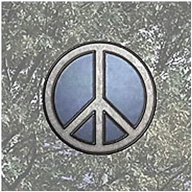 Brewster Home Fashions Peace Sign Stained Appliqu Window Sticker