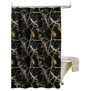 Realtree Realtree Camo Shower Curtain; Black
