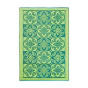 ACHLA Primrose Kitchen Mat; Green Apple