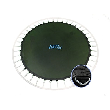 Upper Bounce Jumping Surface for 10' Trampoline w/ 56 V-Rings and 5.5'' Springs