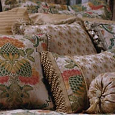 Charister Hazelton Brush Fringe Throw Pillow