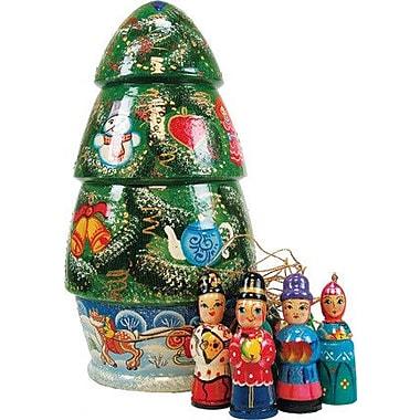 G Debrekht Russia X-Mas Tree Ornament Doll
