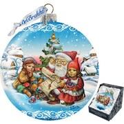 G Debrekht Limited Edition Christmas Ball Ornament