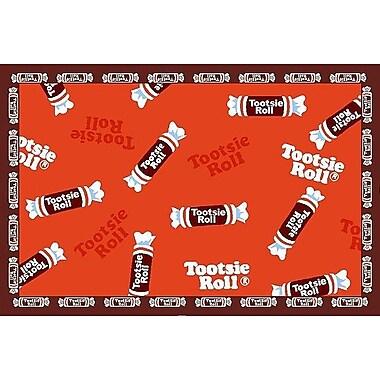 Fun Rugs Tootsie Roll Candy Area Rug; Rectangle 3'3'' x 4'10''