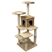 Majestic Pet 66'' Casita Fur Cat Tree
