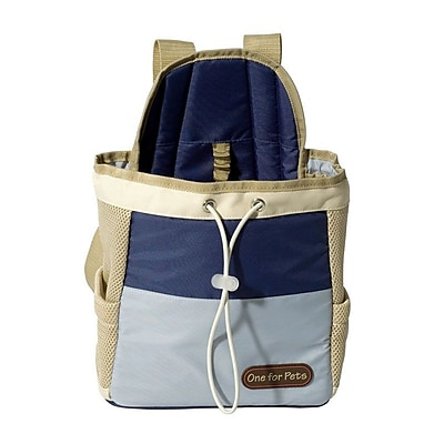 OneForPets Front Pet Carrier; Blue