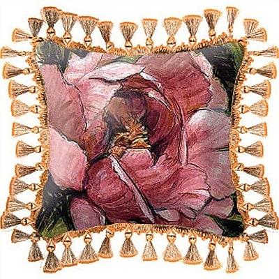 Fine Art Tapestries Summer's Bounty Throw Pillow
