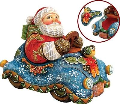 G Debrekht Delivery Santa Figurine