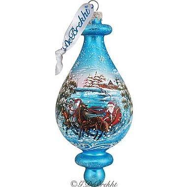 G Debrekht Troika Bell Ornament