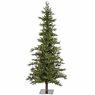 Vickerman Shawnee Fir 7' Green Alpine Artificial Christmas Tree w/ 350 Multicolored Lights w/ Stand
