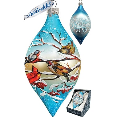 G Debrekht Winterbird Drop Ornament