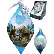 G Debrekht Winter Wolves Led Ornament