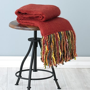 Shiraleah Fab Throw Blanket; Red