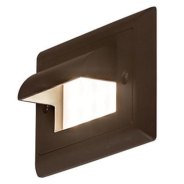 Bruck Ledra 1-Light Step Light; Bronze