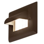 Bruck Ledra 1-Light Step Light; Bronze