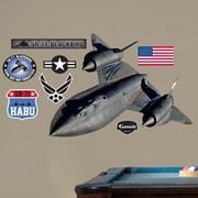 Fathead Military SR-71 Blackbird Wall Decal