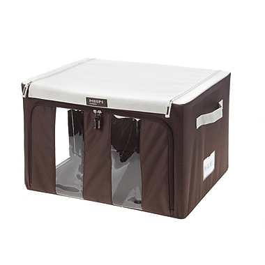 MJM International Collapsible Storage Bin w/ Handles; Medium