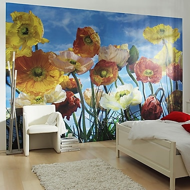 Brewster Home Fashions Komar Poppy Wall Mural