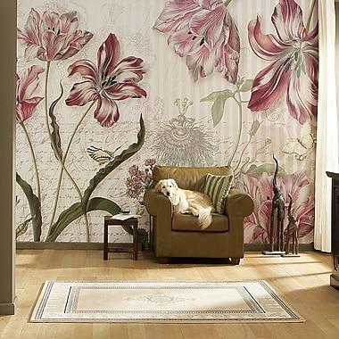 Brewster Home Fashions Komar Merian 145' x 100'' Wall Mural