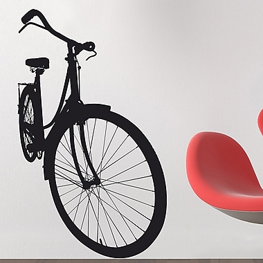 Brewster Home Fashions Euro Bicycle Wall Decal
