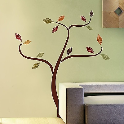 Brewster Home Fashions Euro Ethnic Tree Wall Decal