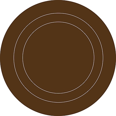 Brewster Home Fashions WallPops for Baby Dots and Concentric Wall Decal; Espresso