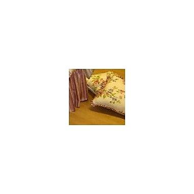 Charister Mirabella Ruffle Cotton Throw Pillow