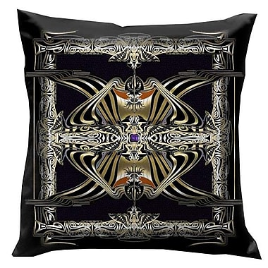 Lama Kasso Rulers of Time Egyptian Throw Pillow