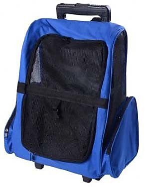 Pawhut Deluxe Travel Pet Carrier; Blue