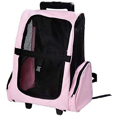 Pawhut Deluxe Travel Pet Carrier; Pink