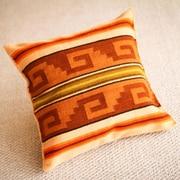 Novica The Eliazar Ochoa Wool Pillow Cover