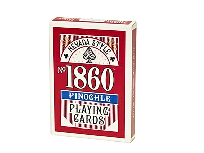 Nevada Style Pinochle Playing Card Deck