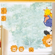 Platin Art Wild Animals Window Sticker
