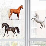 Platin Art Horseland Window Sticker