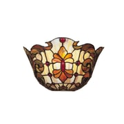Dale Tiffany Floral 1-Light Leland Wall Sconce