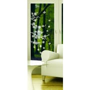 Brewster Home Fashions Window Decor Blossom Etched Window Sticker