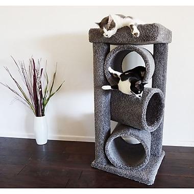 New Cat Condos 44'' Premier Triple Cat Perch; Gray