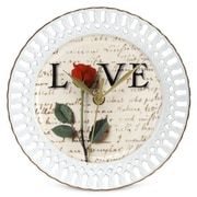 PS Collection Love Letters 8'' Wall Clock