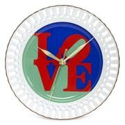 PS Collection Robert Indiana ''Love'' 8'' Wall Clock