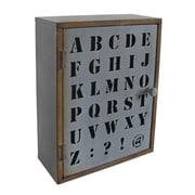 Cheungs Alphabet Wall Cabinet