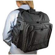 Alvin and Co. Heritage Backpack; Black