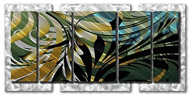 All My Walls 'Jungle' by Ash Carl Designs Graphic Art Plaque