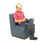 Brand New World Enviro-Child Modern Casual Upholstery Kids Club Chair; Deep Red