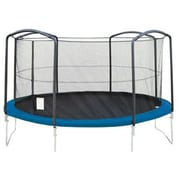 SKYBOUND 14' Trampoline Enclosure Net Using 4 Arches