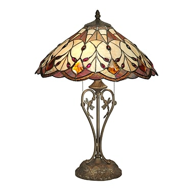 Dale Tiffany Marshall 23.7'' Table Lamp