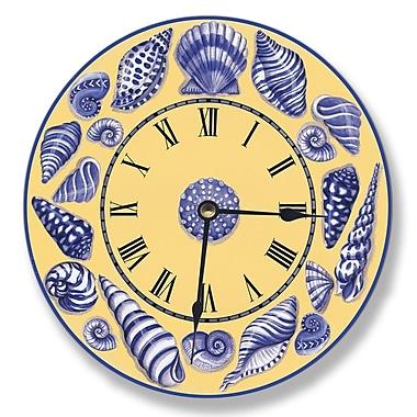 Stupell Industries 12'' Shell Wall Vanity Clock