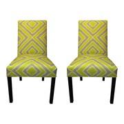 Sole Designs Nouveau Side Chairs (Set of 2); Wassabi