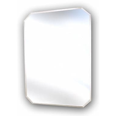 American Pride Oxford 16.5'' x 23.5'' Recessed or Surface Mount Medicine Cabinet